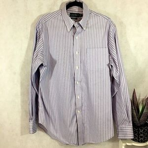 Ralph Lauren Striped Shirt Non-Iron Long Sleeves
